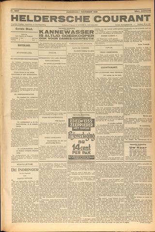 Heldersche Courant 1928-11-01