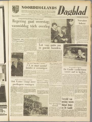 Noordhollands Dagblad : dagblad voor Alkmaar en omgeving 1960-01-27