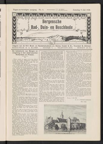 Bergensche bad-, duin- en boschbode 1938-07-09