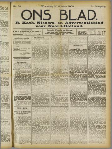 Ons Blad : katholiek nieuwsblad voor N-H 1909-10-20