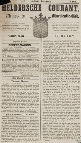 Heldersche Courant 1868-03-18