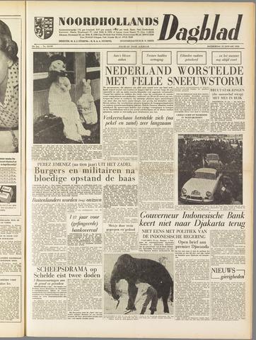 Noordhollands Dagblad : dagblad voor Alkmaar en omgeving 1958-01-23