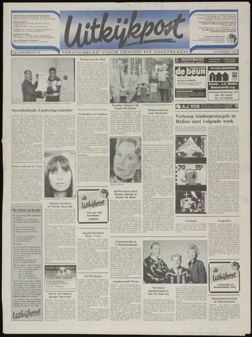Uitkijkpost : nieuwsblad voor Heiloo e.o. 1993-11-10