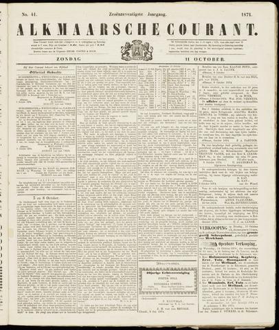 Alkmaarsche Courant 1874-10-11