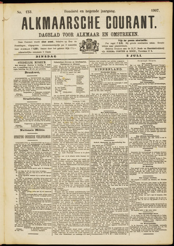 Alkmaarsche Courant 1907-07-02