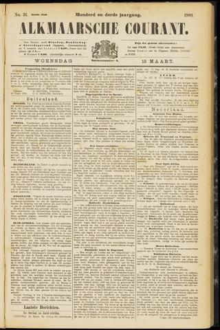 Alkmaarsche Courant 1901-03-13