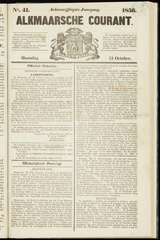 Alkmaarsche Courant 1856-10-13
