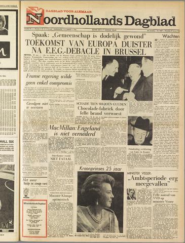 Noordhollands Dagblad : dagblad voor Alkmaar en omgeving 1963-01-30