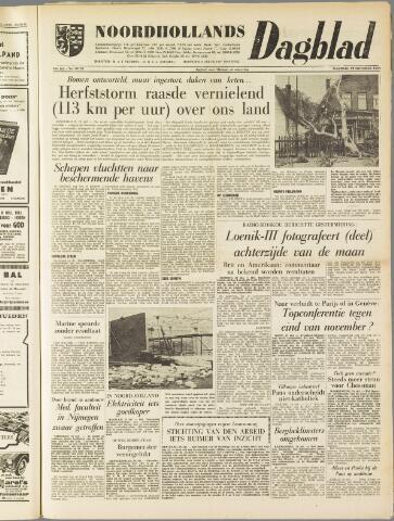 Noordhollands Dagblad : dagblad voor Alkmaar en omgeving 1959-10-19