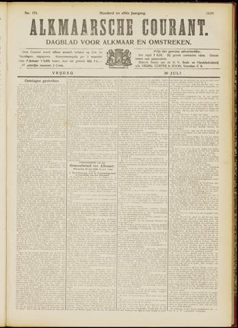 Alkmaarsche Courant 1909-07-30