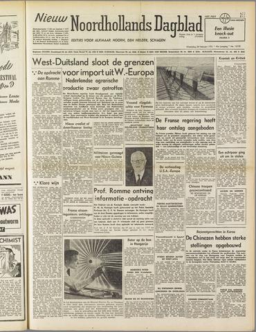 Nieuw Noordhollandsch Dagblad : voor Alkmaar en omgeving 1951-02-28