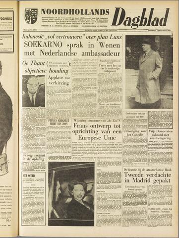 Noordhollands Dagblad : dagblad voor Alkmaar en omgeving 1961-11-04