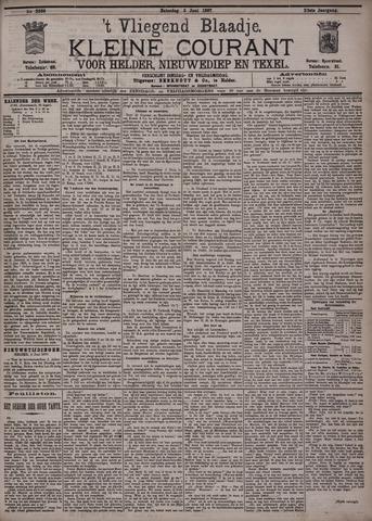 Vliegend blaadje : nieuws- en advertentiebode voor Den Helder 1897-06-05