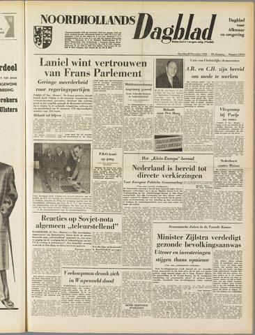 Noordhollands Dagblad : dagblad voor Alkmaar en omgeving 1953-11-28