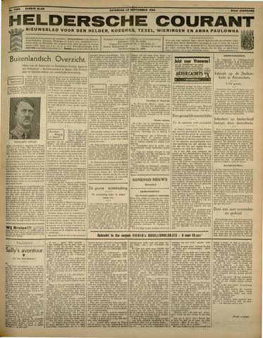Heldersche Courant 1934-09-22