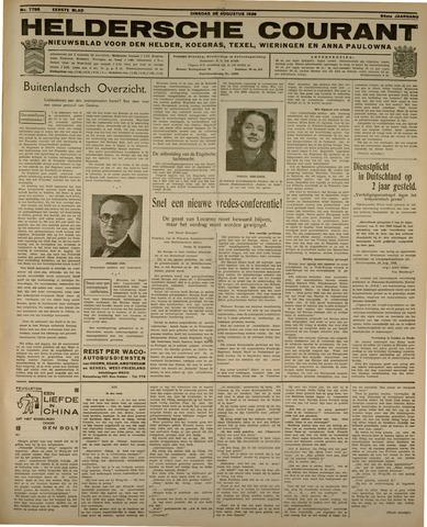 Heldersche Courant 1936-08-25
