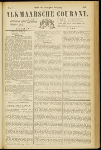 Alkmaarsche Courant 1885-05-06