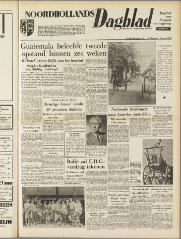 Noordhollands Dagblad : dagblad voor Alkmaar en omgeving 1954-08-03