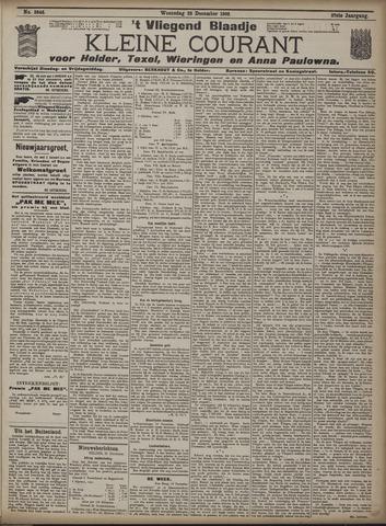Vliegend blaadje : nieuws- en advertentiebode voor Den Helder 1909-12-22