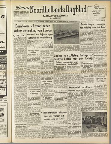 Nieuw Noordhollandsch Dagblad : voor Alkmaar en omgeving 1952-01-23
