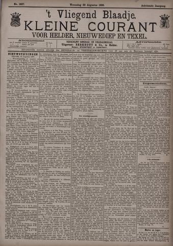 Vliegend blaadje : nieuws- en advertentiebode voor Den Helder 1890-08-20