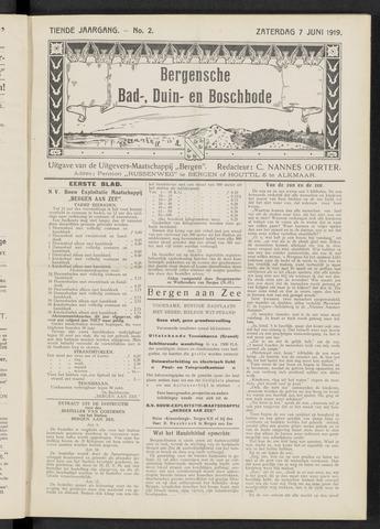 Bergensche bad-, duin- en boschbode 1919-06-07