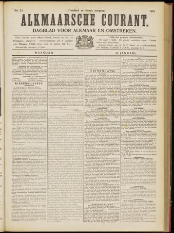 Alkmaarsche Courant 1908-01-27