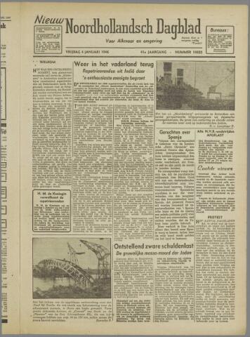 Nieuw Noordhollandsch Dagblad : voor Alkmaar en omgeving 1946-01-04