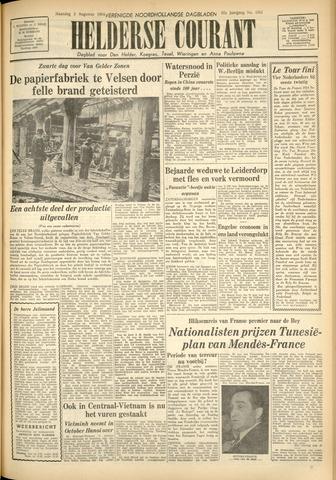 Heldersche Courant 1954-08-02