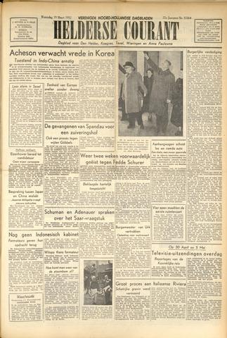Heldersche Courant 1952-03-19