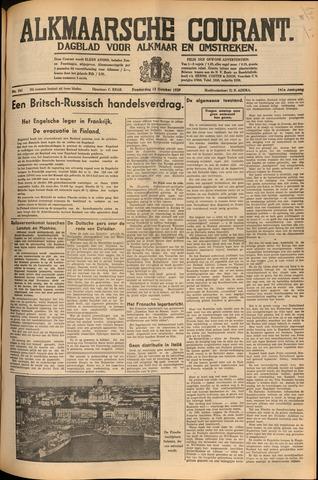 Alkmaarsche Courant 1939-10-12