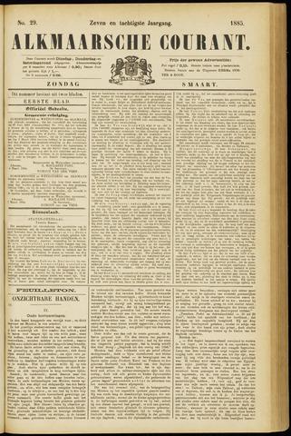 Alkmaarsche Courant 1885-03-08