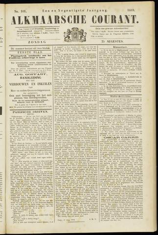 Alkmaarsche Courant 1889-08-25