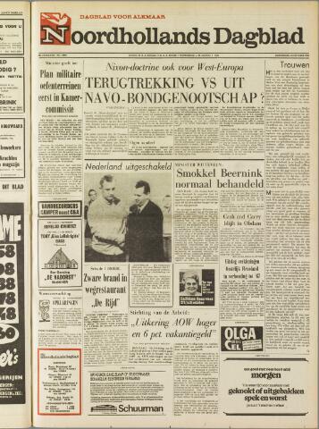 Noordhollands Dagblad : dagblad voor Alkmaar en omgeving 1969-10-23