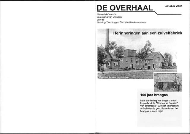 De Overhaal: historisch magazine Heerhugowaard 2002-10-01