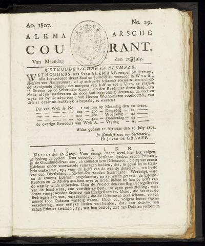 Alkmaarsche Courant 1807-07-20