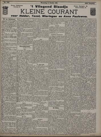 Vliegend blaadje : nieuws- en advertentiebode voor Den Helder 1908-10-21