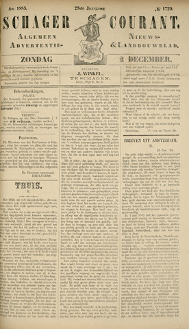 Schager Courant 1883-12-02