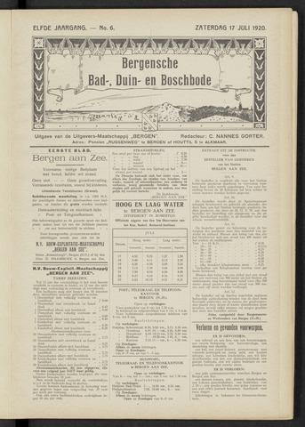Bergensche bad-, duin- en boschbode 1920-07-17