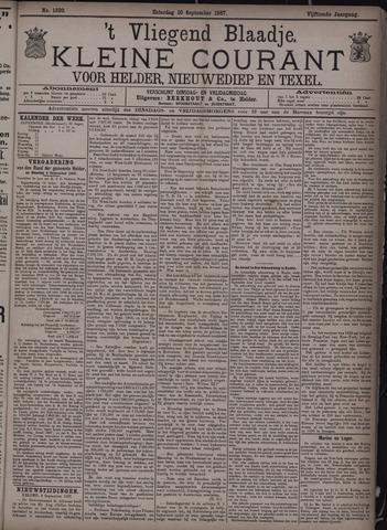 Vliegend blaadje : nieuws- en advertentiebode voor Den Helder 1887-09-10