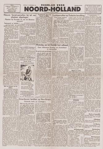 Dagblad Noord-Holland, Schager editie 1943-12-21