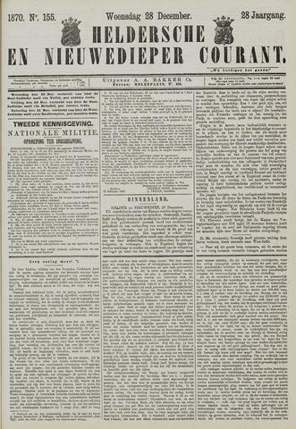 Heldersche en Nieuwedieper Courant 1870-12-28