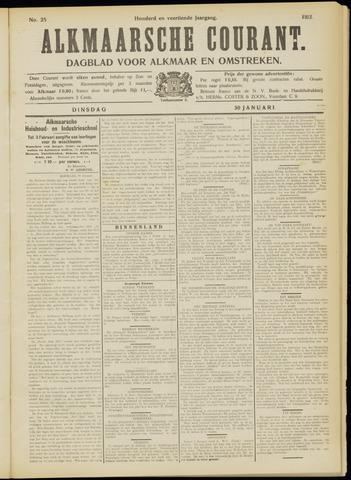 Alkmaarsche Courant 1912-01-30