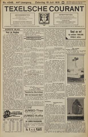 Texelsche Courant 1931-07-18
