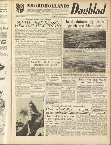 Noordhollands Dagblad : dagblad voor Alkmaar en omgeving 1958-04-02