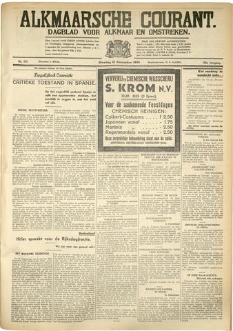Alkmaarsche Courant 1933-12-12