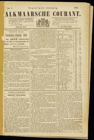 Alkmaarsche Courant 1888-01-01