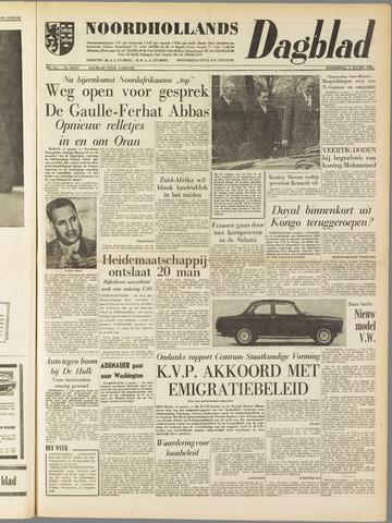 Noordhollands Dagblad : dagblad voor Alkmaar en omgeving 1961-03-02