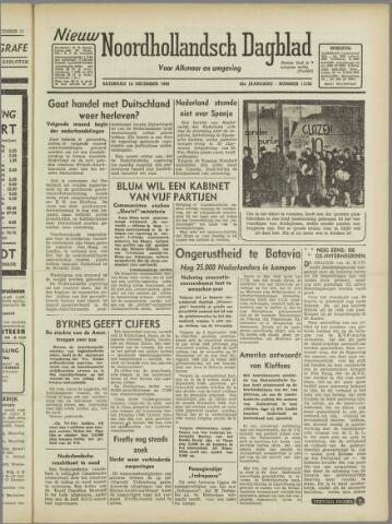 Nieuw Noordhollandsch Dagblad : voor Alkmaar en omgeving 1946-12-14