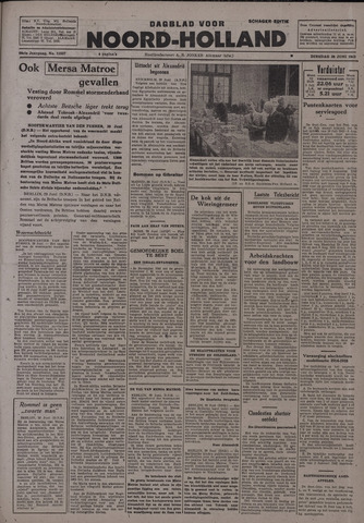 Dagblad Noord-Holland, Schager editie 1942-06-30